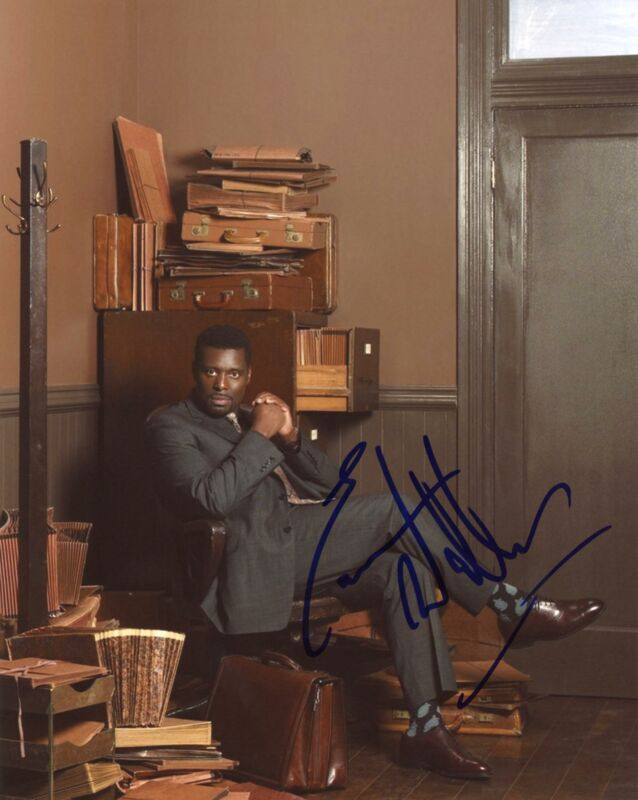 "Eamonn Walker ""Chicago P.D."" AUTOGRAPH Signed 8x10 Photo ACOA"