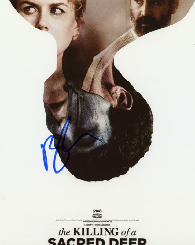 "Barry Keoghan ""Killing of a Sacred Deer"" AUTOGRAPH Signed 8x10 Photo C"
