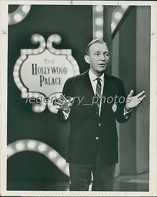 1969 Bing Crosby On The Hollywood Palace Original News Service Photo