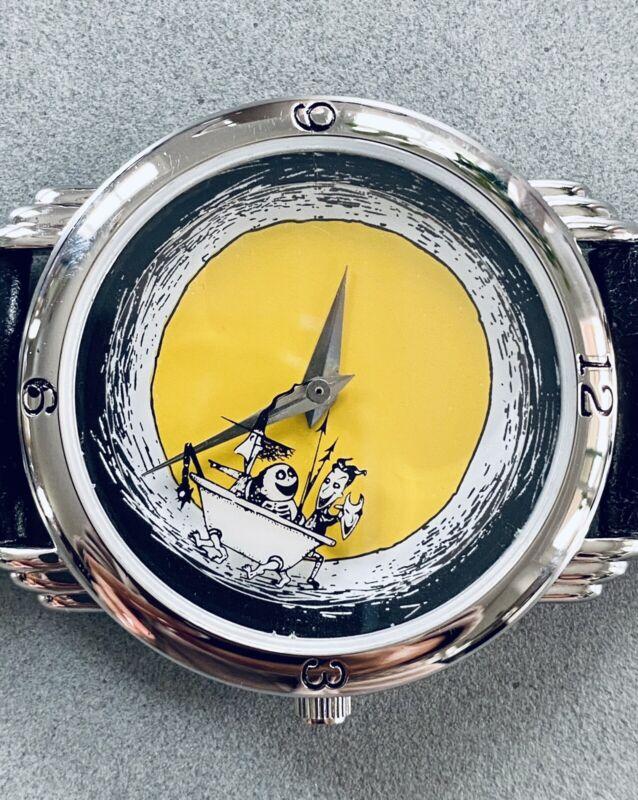 NIP 1993 Nightmare Before Christmas Wrist Watch Lock Shock Barrel Unisex LE 750