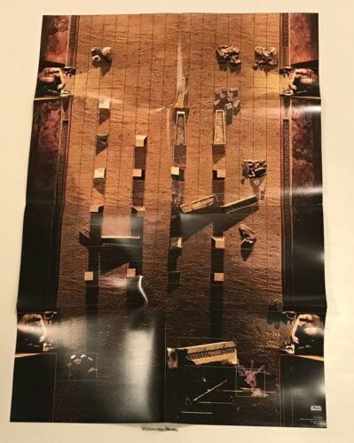 Star Wars Miniatures 2006 One-Sided Battle Map NEW