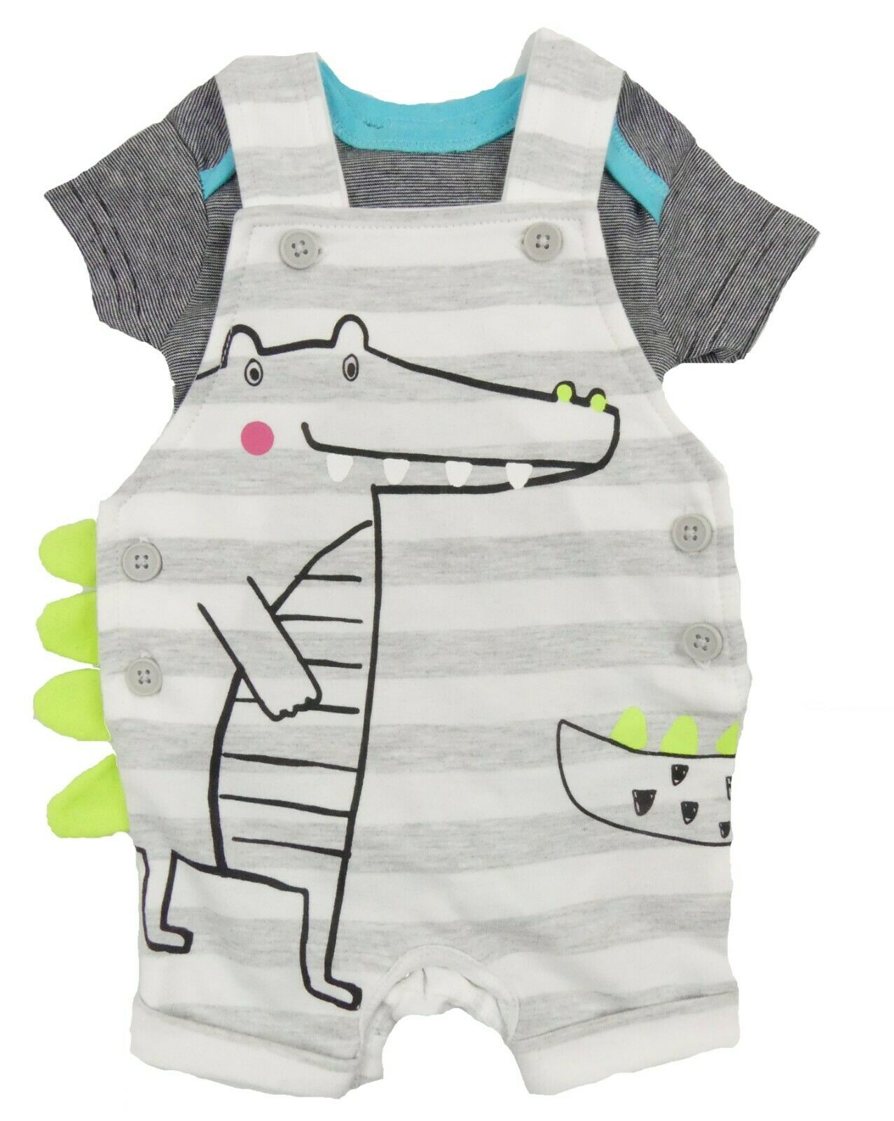 Baby Toddler Kids Boys Outfit 2 pcs Set T-shirt /& Shorts 6-9//9-12 m 2-3// 3-4 Y