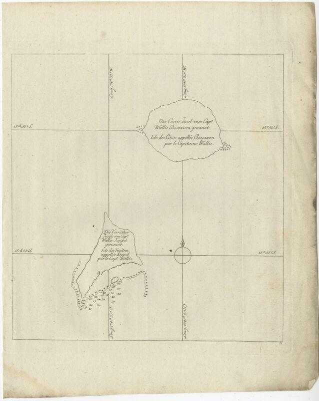 Die Cocos Insel (..) - Bernard (1778)