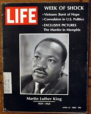Rare Life Magazine - April 12, 1968 - Martin Luther King's ...
