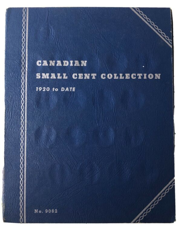 Canadian Small Cent Collection 1920 to Date (1972) #2
