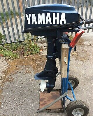 YAMAHA OUTBOARD/ Motor. 8hp 2 Stroke Short Shaft.