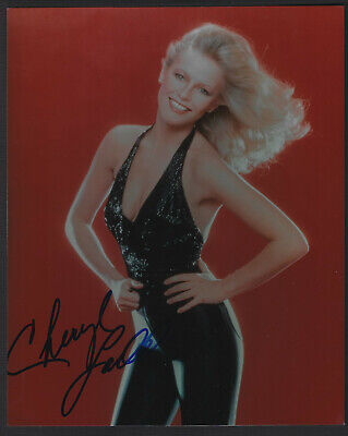 Cheryl Ladd Signed 8 X 10 Color Photo
