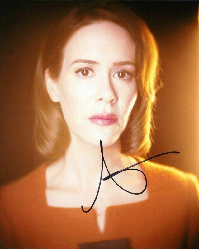 Sarah Paulson Signed 10X8 Photo American Horror Story AFTAL COA (A)