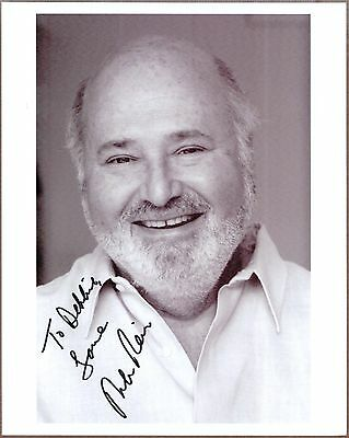 Rob Reiner, Actor, Producer, Director, Signed Photo, COA, UACC RD 036