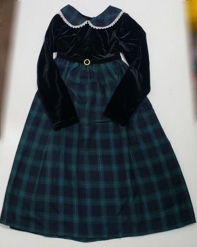 Vintage Christmas Youngland Dress Little Girls Size 6