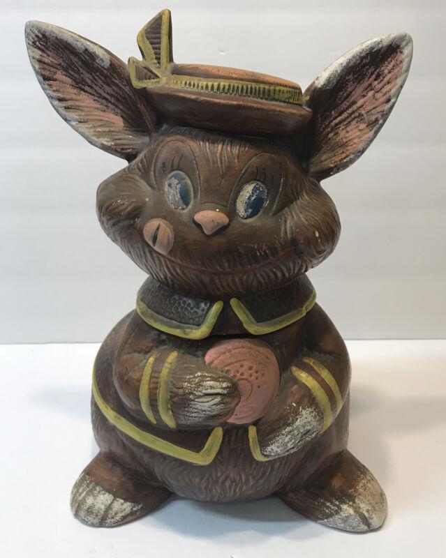 Vintage Rabbit Cookie Jar By California Originals