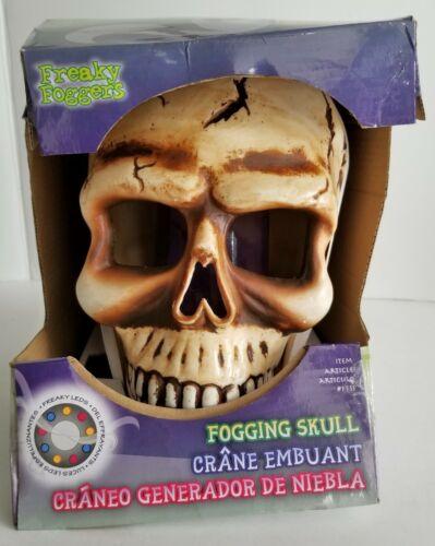 Fogging Skull Halloween Freaky Fogger LED Light Show Water Fog Machine Prop