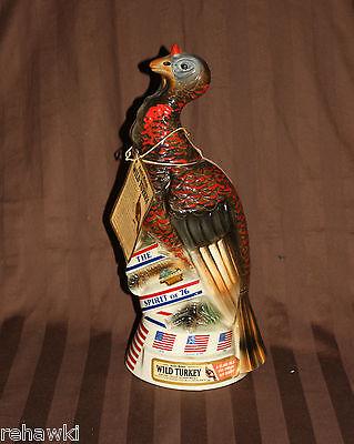 Wild Turkey SPIRIT OF 76 decanter like JIM BEAM