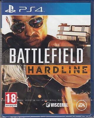 Battlefield Hardline PS4 Sony PlayStation 4 Brand New Factory Sealed