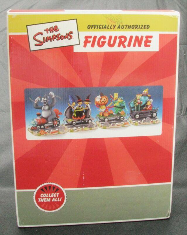 Simpsons Halloween Train of Terror #438 Hamilton Collection Complete w COA