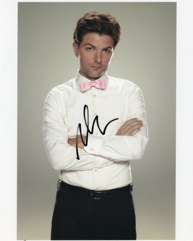 Adam Scott Parks and Recreation Step Brothers Signed 8x10 Photo w/COA
