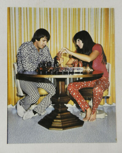 SONNY & CHER CHESS COLOR PHOTO