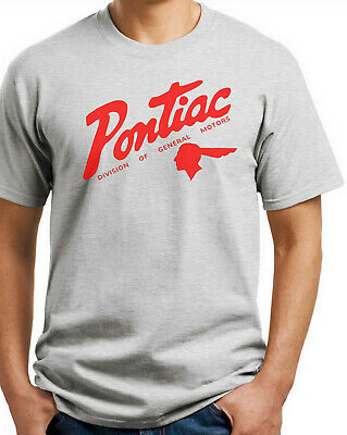 Pontiac  T-shirt. Ash, Khaki, White, Yellow. S thru XXX-Large Cotton. Free Ship - New Xxx Large T-shirt