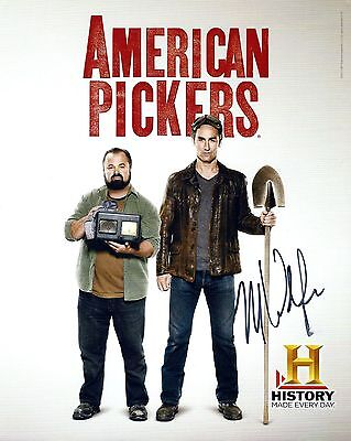 American Pickers Mike Wolfe Signed 8X10 Promo Photo   Autograph
