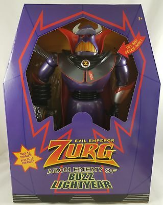 Toy Story Zurg (New Disney Store Toy Story Talking Light-Up Emperor Zurg Action Figure)
