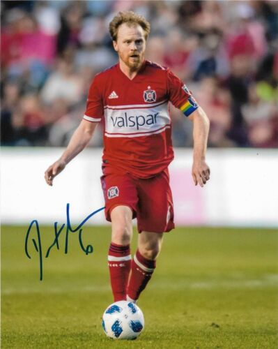Chicago Fire Dax McCarty Autographed Signed MLS 8x10 COA #4