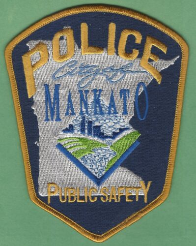 MANKATO MINNESOTA PUBLIC SAFETY POLICE SHOULDER PATCH