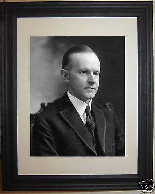 President Calvin Coolidge U.S. USA 30th President Framed Photo Picture