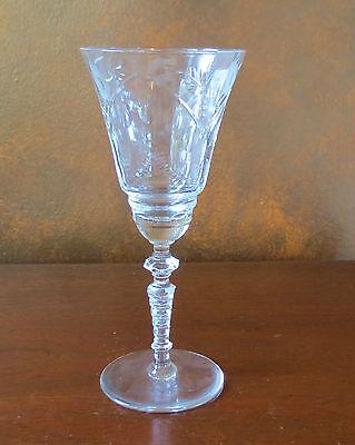 Libbey Rock Sharpe Marshfield #2006 Stem Water Goblet(s)