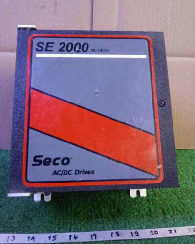 1 USED SECO SE2102-2 DC DRIVE ***MAKE OFFER***