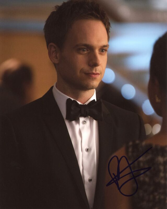 "Patrick J. Adams ""Suits"" AUTOGRAPH Signed 8x10 Photo D"