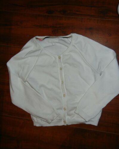 Burberry Cardigan Girls Size 4Y 120/60