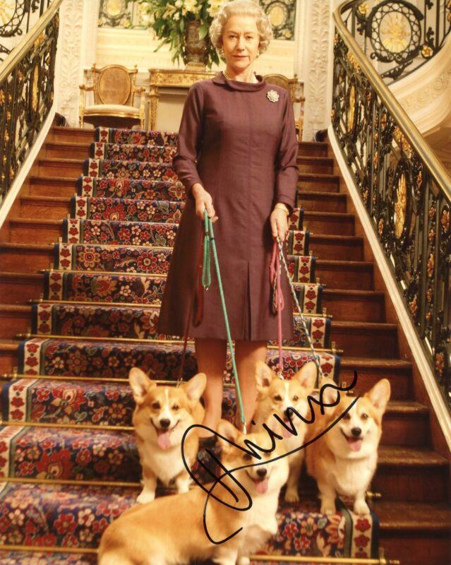 """Helen Mirren """"The Queen"""" AUTOGRAPH Signed 8x10 Photo ACOA"""