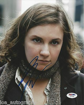 Lena Dunham Hand Signed 8X10 Photo Hbo Tv Series Girls Psa Dna Coa