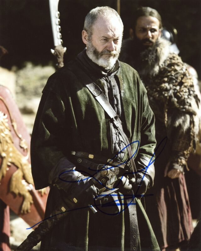"Liam Cunningham ""Game of Thrones"" AUTOGRAPH Signed 8x10 Photo C ACOA"
