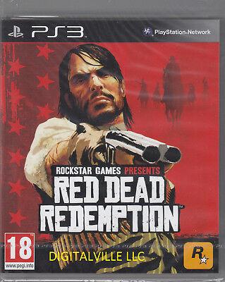 Usado, Red Dead Redemption PS3 Sony PlayStation 3 Brand New Factory Sealed segunda mano  Embacar hacia Argentina
