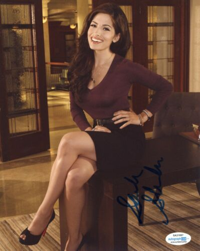 Sarah Shahi Sexy Autographed Signed 8x10 Photo ACOA 2020-20