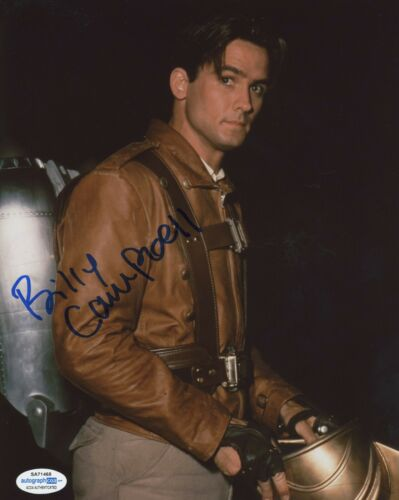 Billy Campbell The Rocketeer Autographed Signed 8x10 Photo ACOA