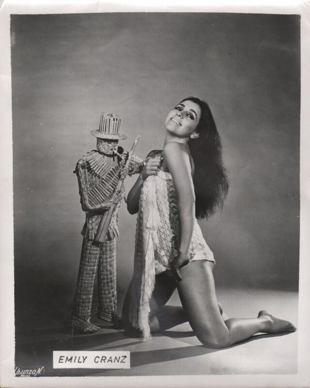 EMILY CRANZ - US/Mexican Actress & Singer - Original Vintage B/W Photograph