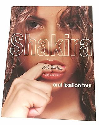 SHAKIRA 2006 2007 ORAL FIXATION TOUR BOOK NEW OFFICIAL NOS SALE RARE MINT