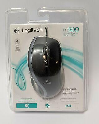 Logitech M500 Corded USB Laser Mouse Black
