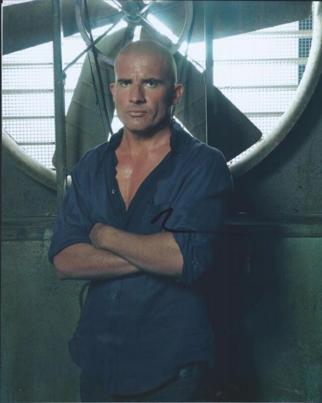 Dominic Purcell Signed Autographed 8x10 Photo The Flash Prison Break C
