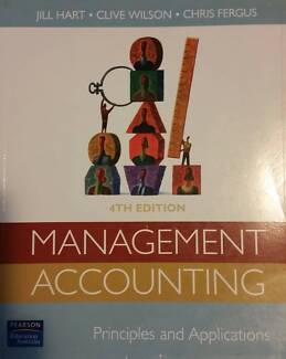 Management Accounting Principles and Applications 4th edition Wynnum West Brisbane South East Preview