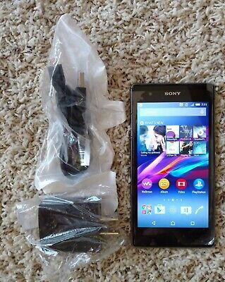 T-Mobile Sony Xperia Z1S C6916 C 6916 32GB Black T-Mobile Smartphone w Charger