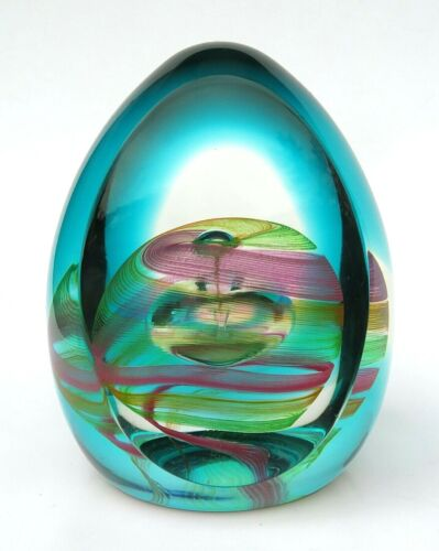 Caithness Scotland Meditation Paperweight Limited Edition