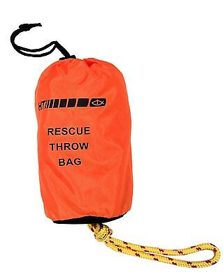 "HT Rescue Throw Bag - Safety Rope For On Water - 100 feet, 3/8"" Thick #RTB-100"