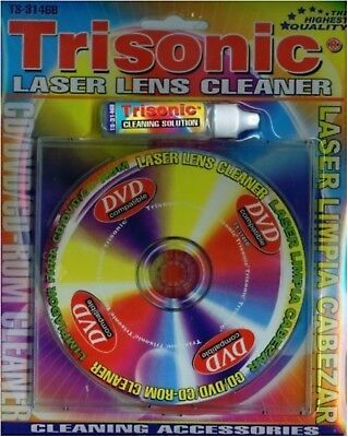 Cd Rom Cleaner - Easy Fast Cleaning DVD CD ROM Disc Excellent Quality Cleaner WII XBOX PS4 Player