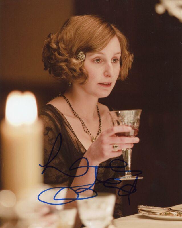 """Laura Carmichael """"Downton Abbey"""" AUTOGRAPH Signed 8x10 Photo C ACOA"""