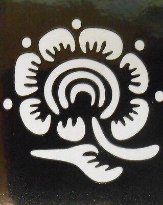 Henna Tattoo Mehndi Schablone - selbstklebend -