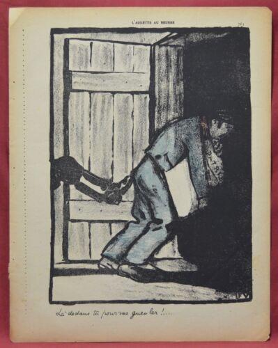 Assiette au Beurre N˚48  Page 761 ONLY  Félix Vallatton Lithograph