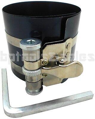 Adjustable Compressor (PISTON RING COMPRESSOR RATCHET STYLE ADJUSTABLE FITS 2-1/8
